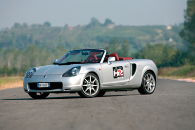 Comparativa Toyota MR2 Roadster Spyder by MR2 CLUB ITALIA