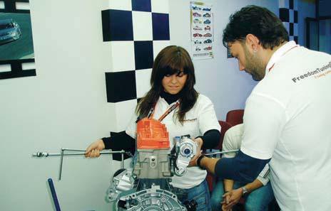 Smontaggio motore  Mele Motorsport
