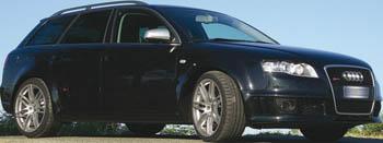Audi RS4 elaborata Sanasi