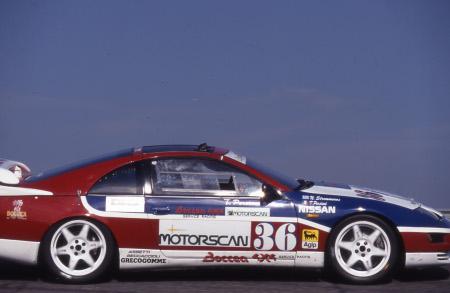 La Nissan 300ZX guidata da Tonino Persiani