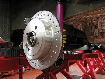 Impianto frenante per la Twing Turbo by Fede Racing