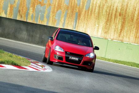 VW Golf V GTI TFSI 3 porte rossa