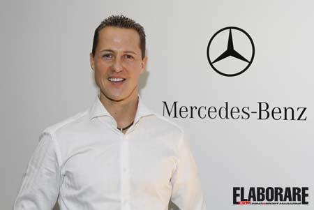 Michael Schumacher torna in F1 con la Mercedes