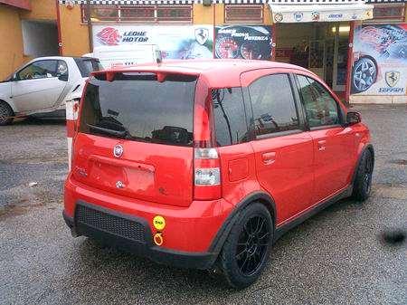 Fiat Panda 100 HP da gara