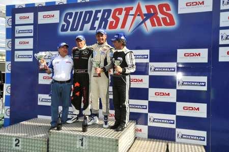 Max Pigoli a podio per ben due volte