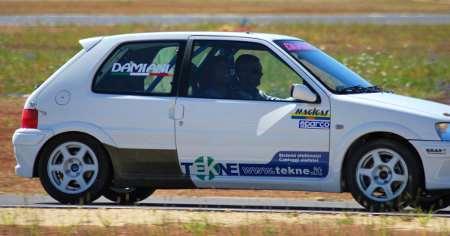 Ainett Stephens e Dino Dragani al Circuito Internazionale d'Abruzzo