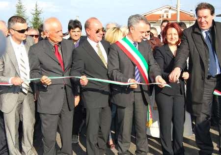 Inaugurazione  e taglio del nastro Circuito Internazionale d'Abruzzo