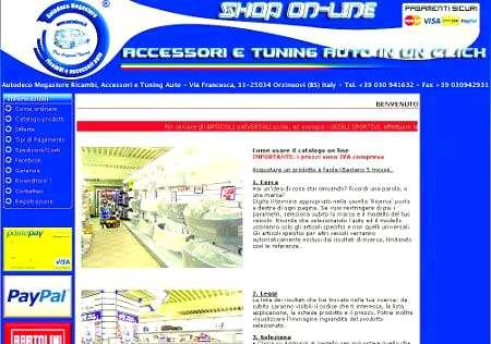 Autodeco shop on line