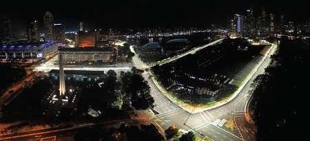 Nuovo autodromo di Siracusa by night