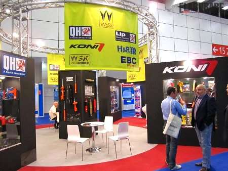 Stand Weiss ad Autopromotec 2011