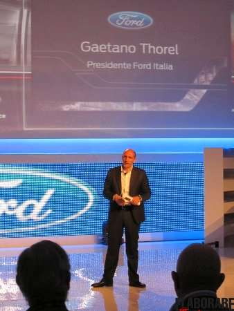 Gaetano Thorel Presidente Ford Italia