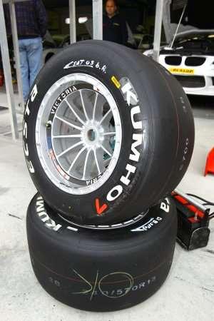 Gli pneumatici by Kumho Motorsports Italia utilizzati in pista a Misano