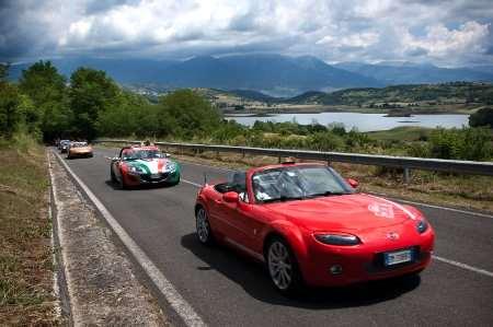 Primo Raduno Mazda Superauto Contrade e Castelli