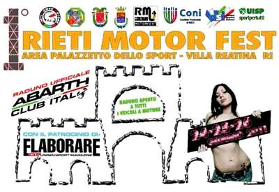 1° Rieti Motor Fest