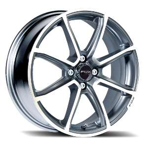 Cerchio Fox FX2 Matt Carbon Grey Diamond Cut by Laidelli Wheels
