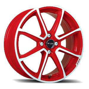 Cerchio Fox FX2 Red Diamond Cut Limited Edition by Laidelli Wheels
