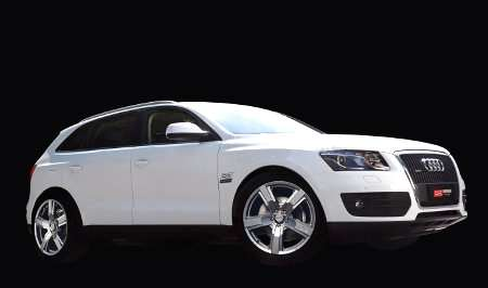 Audi con nuovo cerchio Versilia Crystal Titranium by OZ Racing