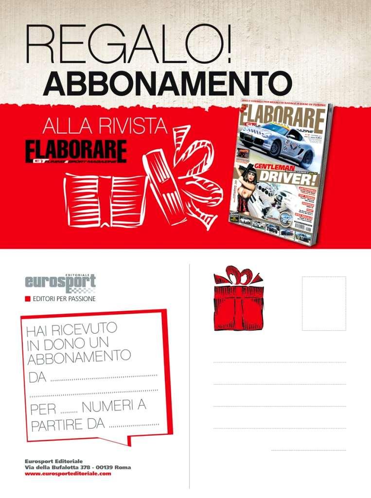 Cartolina abbonamento ELABORARE