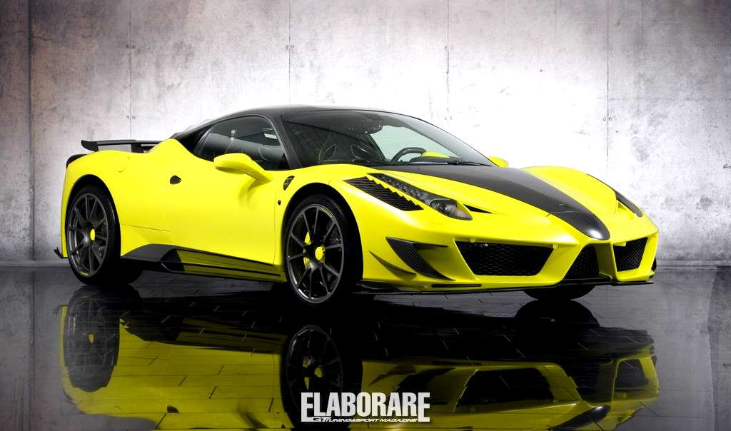 "Photo of Ferrari 458 ""Siracusa"" by Mansory"