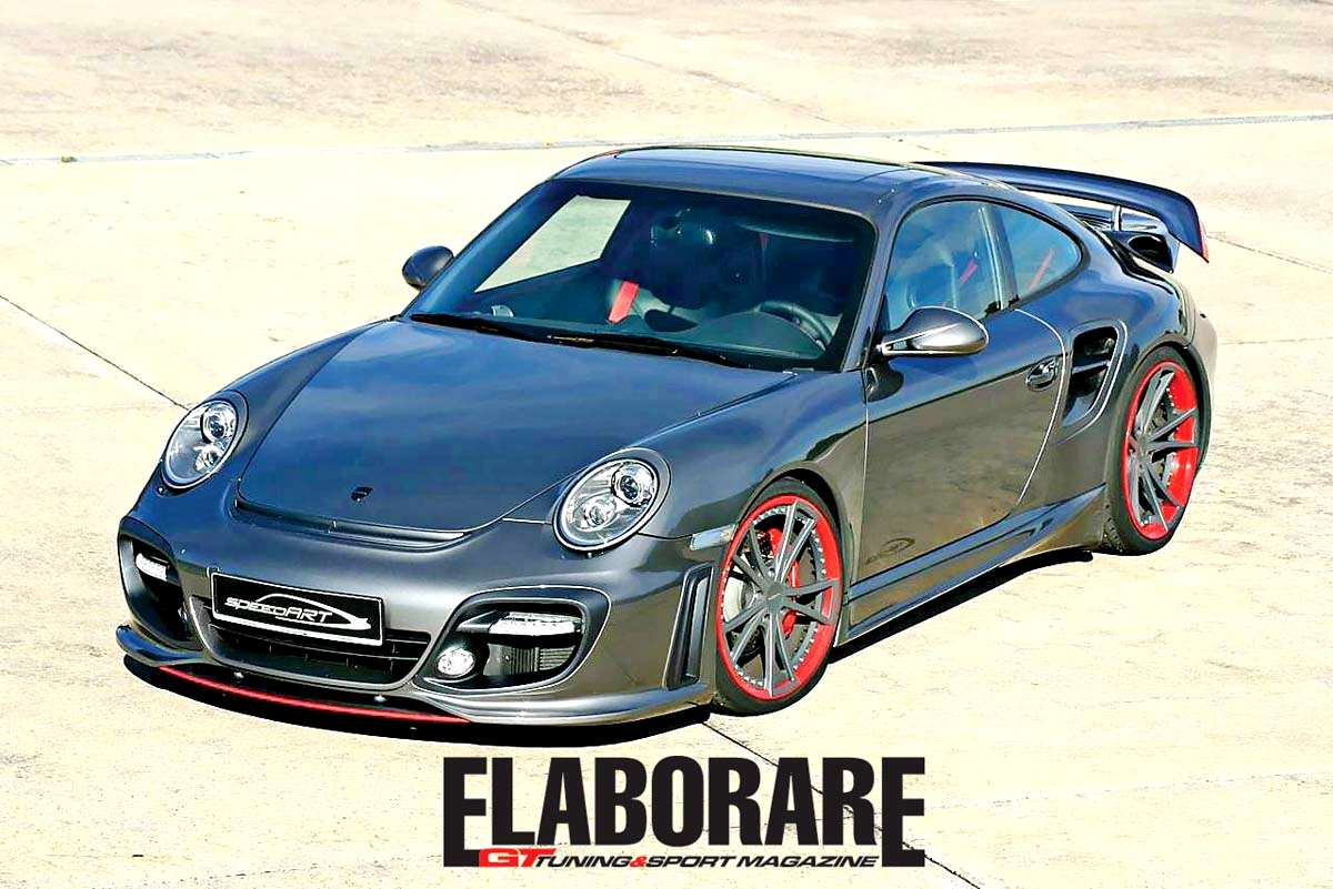 Photo of Porsche 911 turbo SPEEDART