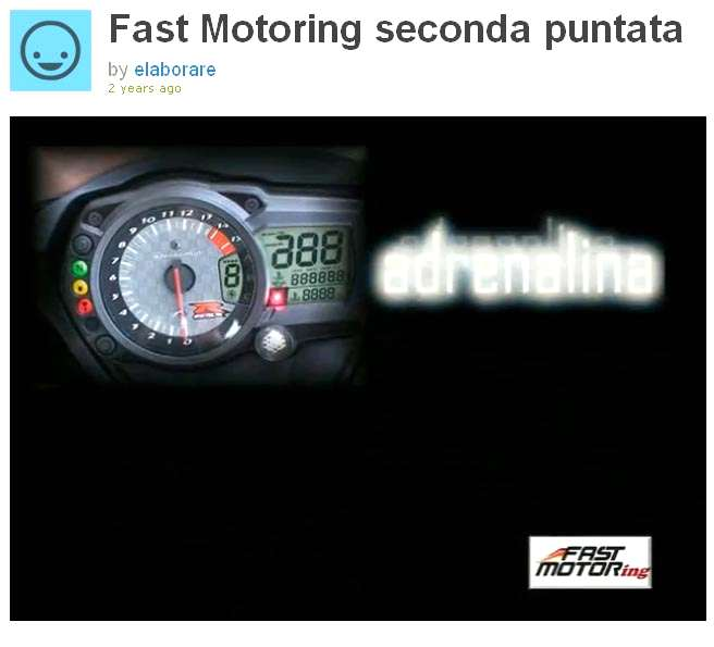 Photo of FAST MOTORING revival TV Motori