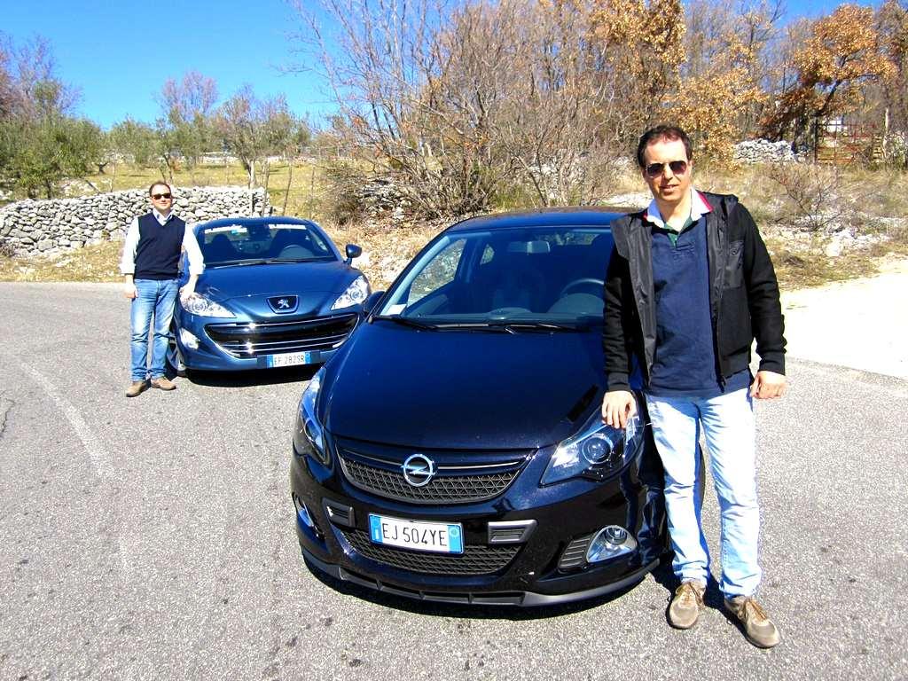 Photo of Peugeot RCZ e Opel Corsa OPC Nurburgring