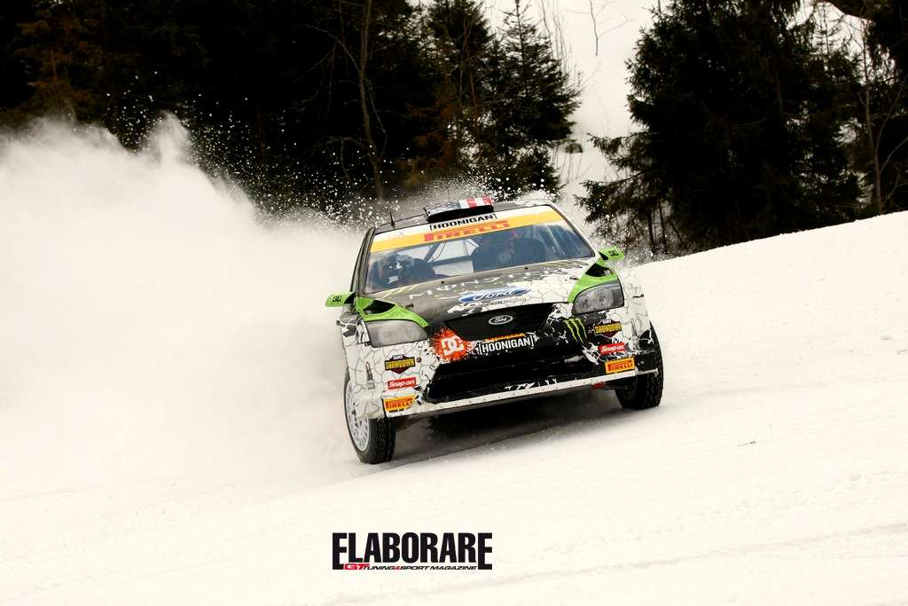 Photo of Ken Block e Pirelli sulla neve