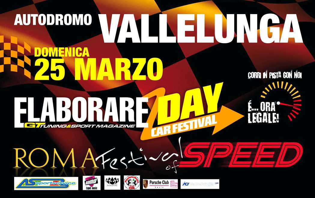 Photo of ELABORARE DAY – Roma Festival of Speed