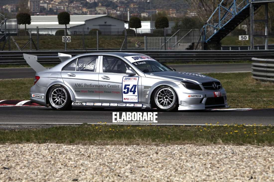 Photo of Liuzzi e la M-B C63 AMG pronti per Imola