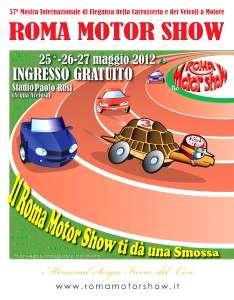 Locandina Roma Motor Show 2012