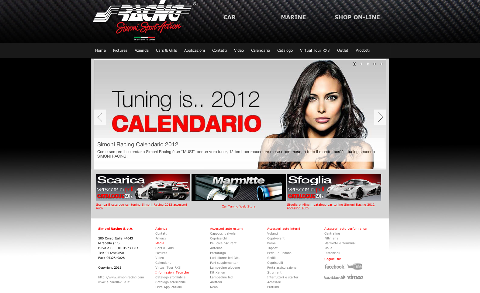 Photo of Nuovo sito web by Simoni Racing