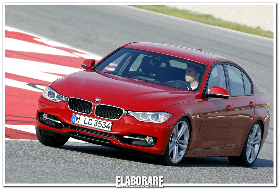 BMW Serie 3 con pneumatici Bridgestone