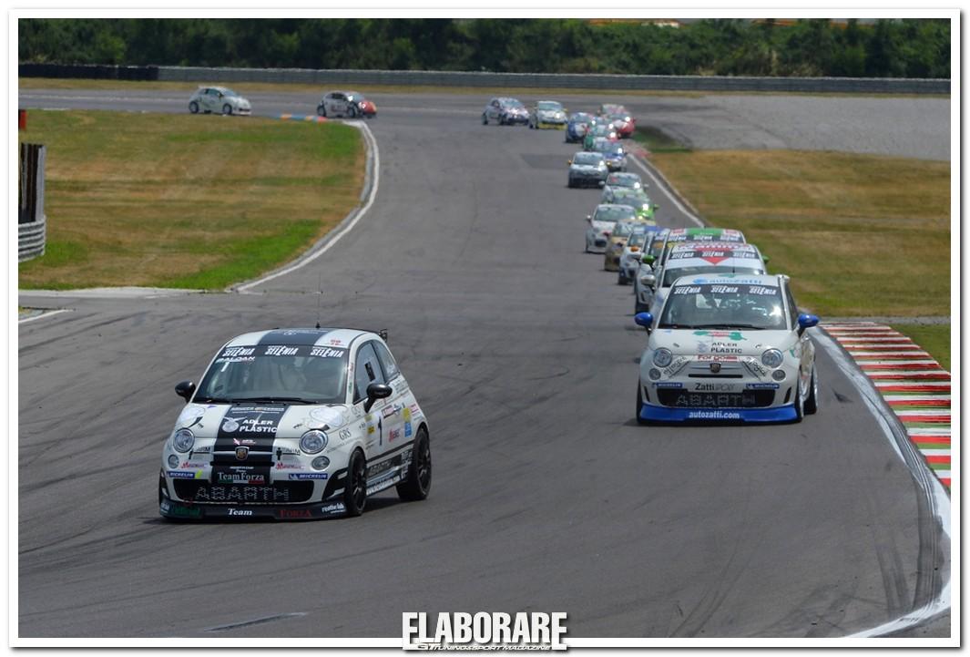 Trofeo Abarth Selenia Italia a Franciacorta
