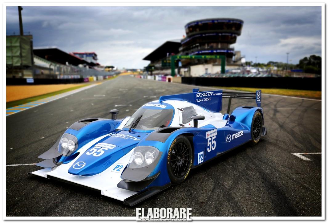 Photo of Il motore Mazda SKYACTIV per Le Mans 2013