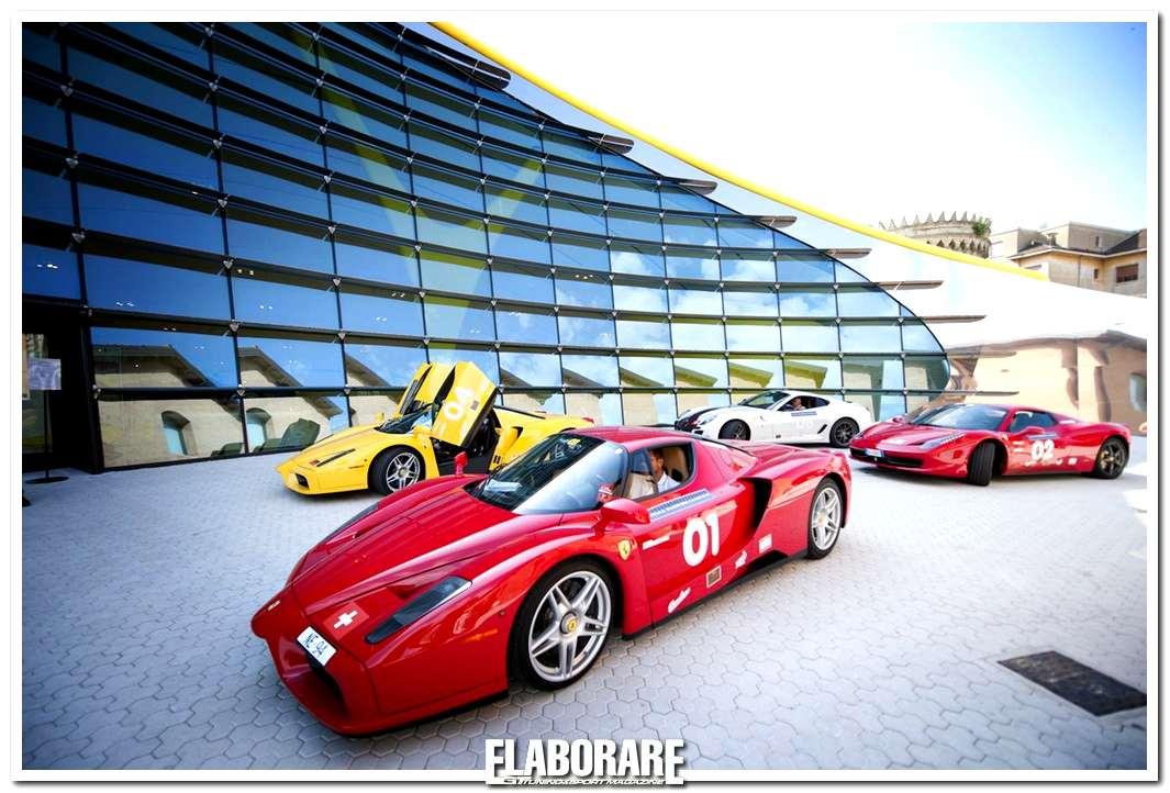 Ferrari Cavalcade 2012 al Museo Casa Enzo Ferrari