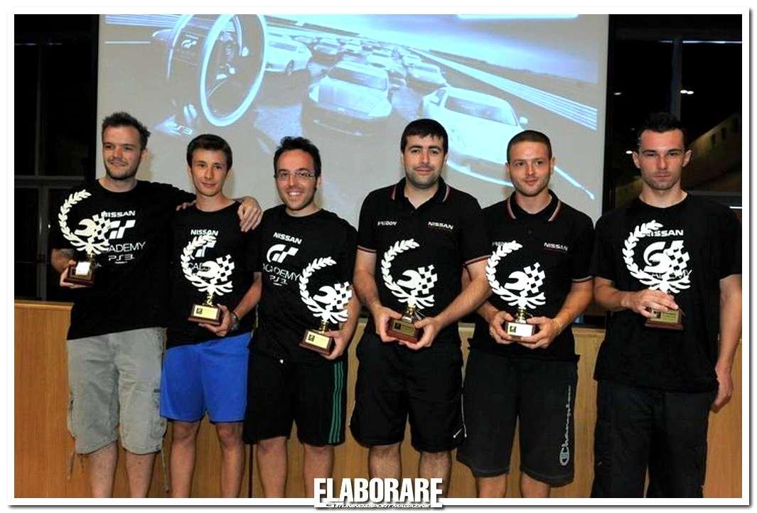 Photo of I sei vincitori della finale italiana GT Academy
