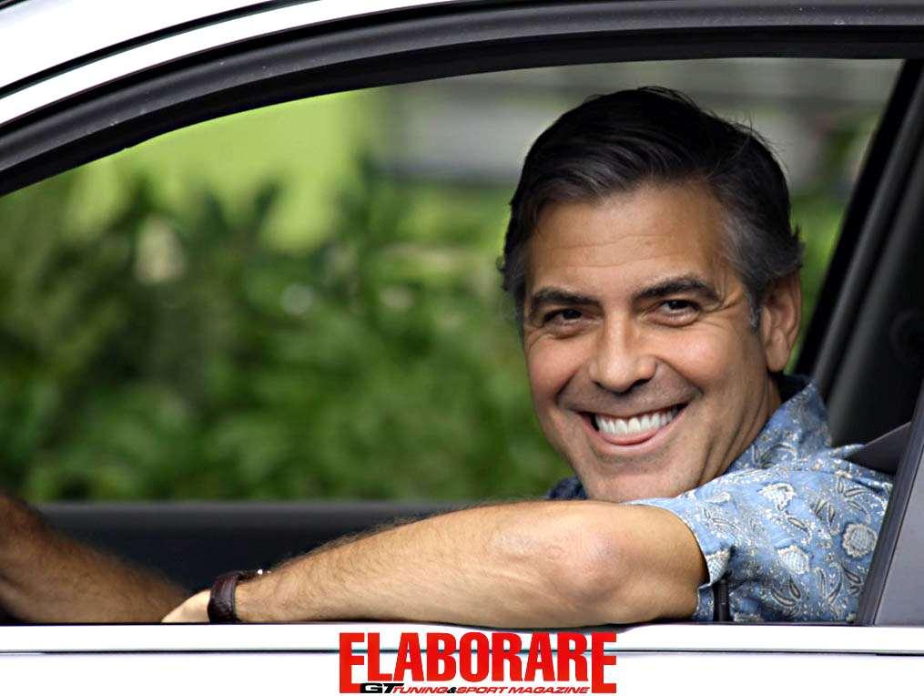 Photo of George Clooney in Italia gira spot Mercedes