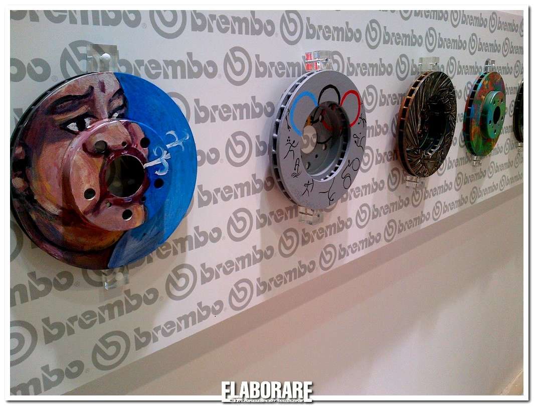 Photo of Opere d'arte Brembo ad Automechanika