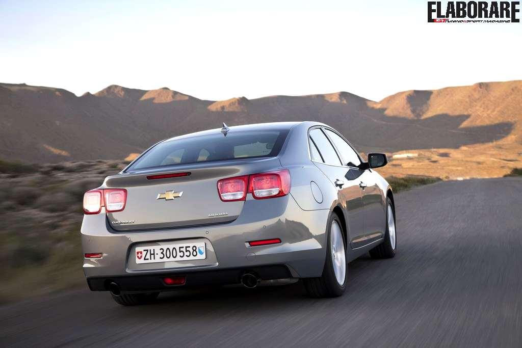 Photo of Nuova Chevrolet Malibu 2012