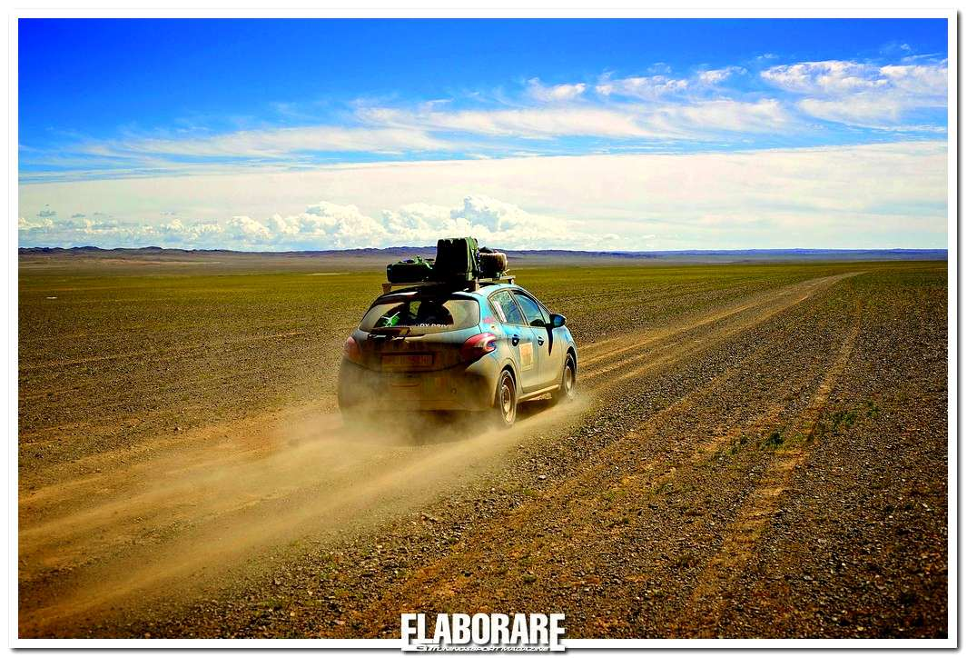 Photo of Mongol Rally con Peugeot 208
