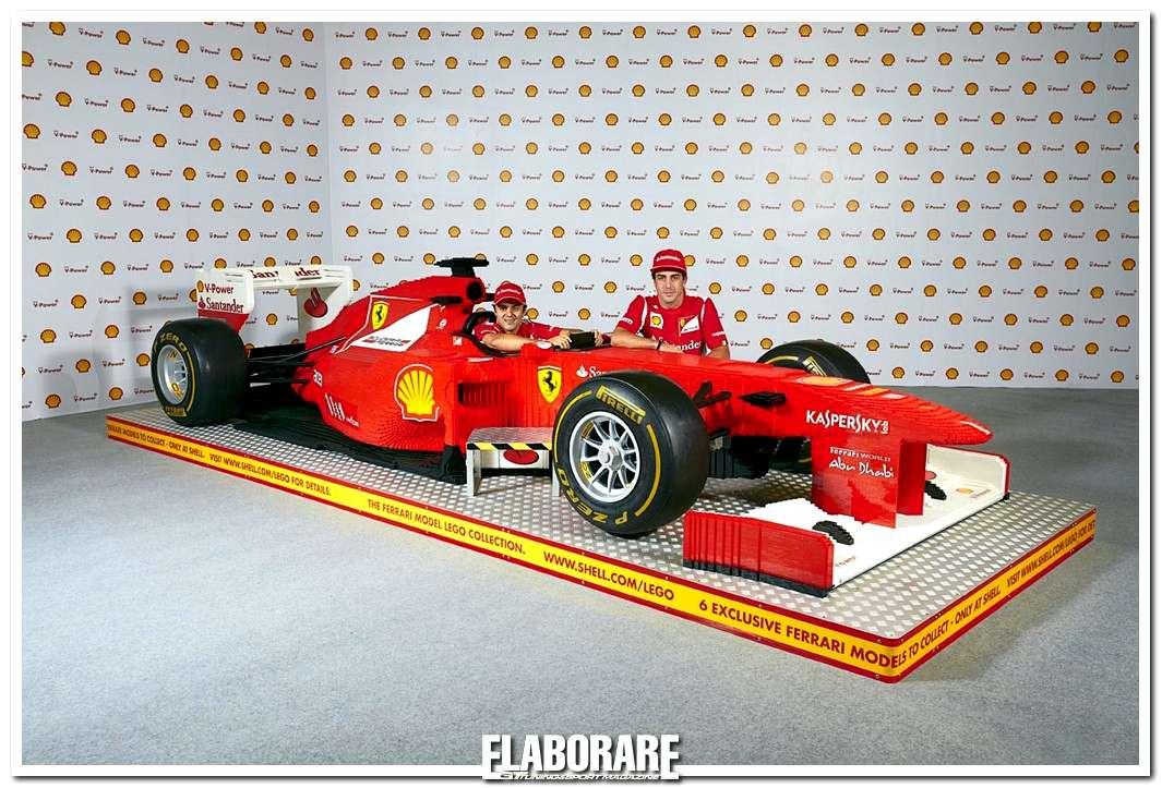 Ferrari Gruppo Lego