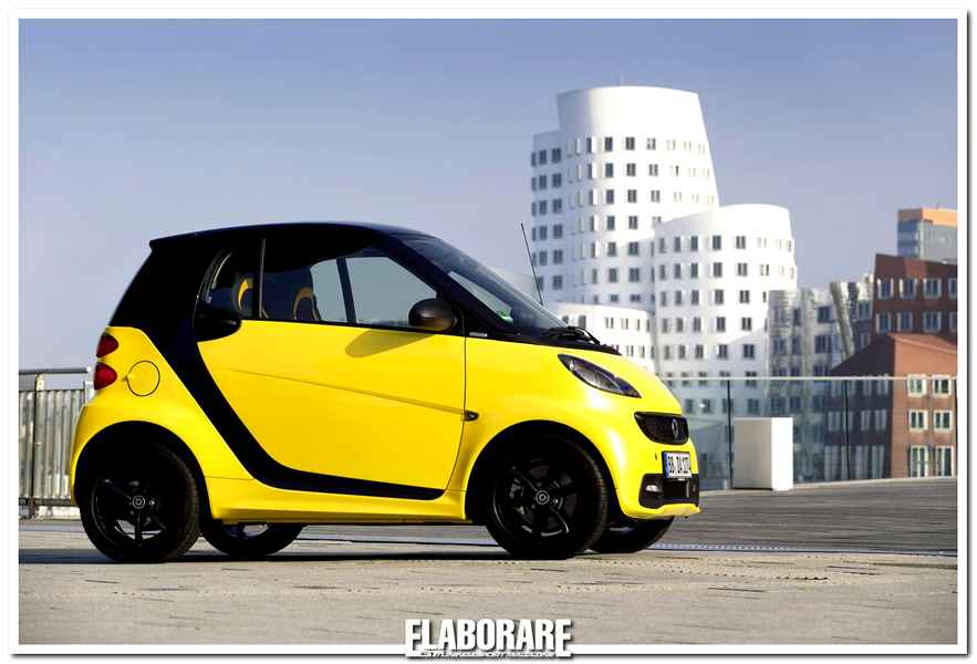 Smart fortwo cityflame special edition