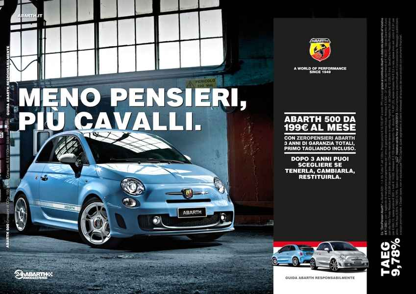 Photo of Abarth scacciapiensieri