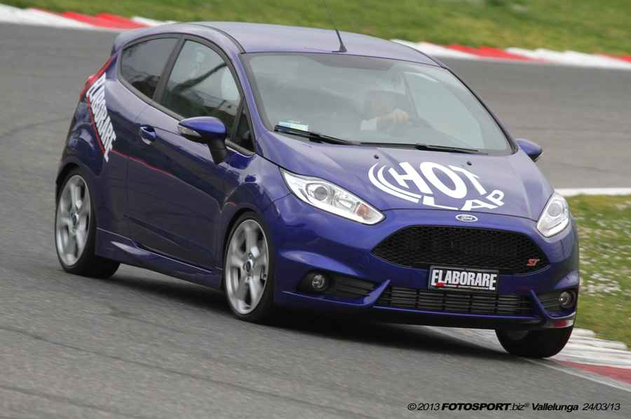 Photo of Fiesta ST 180 cv on board Vallelunga