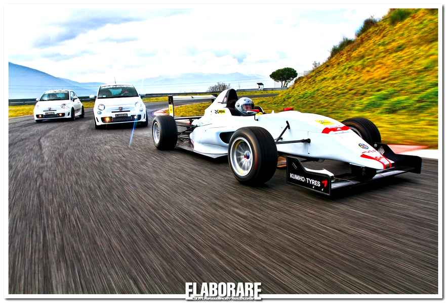 Photo of Formula Abarth 1.4 T-Jet Test con 500 Abarth