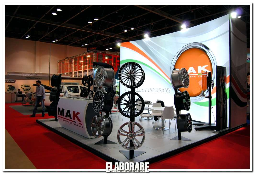 Photo of MAK all'Automechanika di Dubai 2013