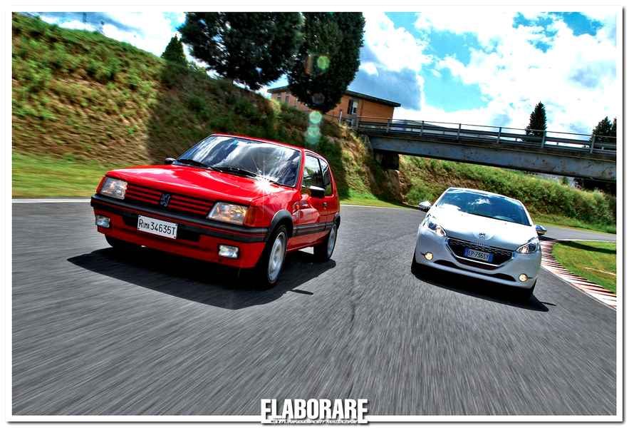 Photo of Supertest Peugeot GTi 205 – 208