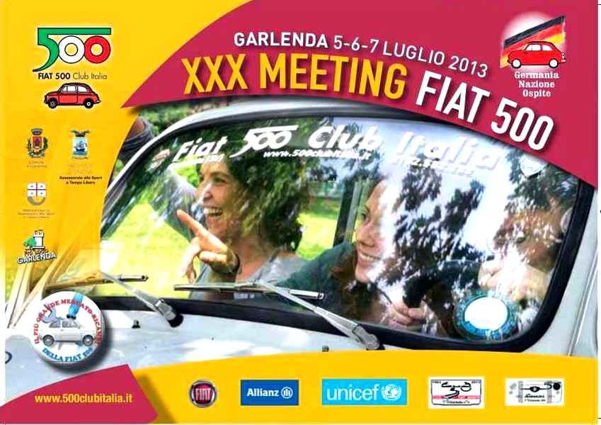 Photo of Al via il XXX Meeting Internazionale Fiat 500