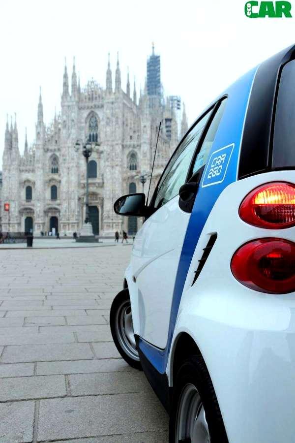 Photo of Noleggio smart facile a Milano con car2go