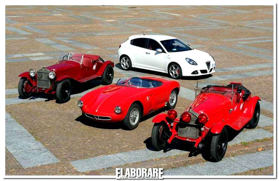 Photo of Alfa Romeo star del Gran Premio Nuvolari 2013
